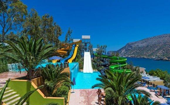 греция отели с аквапарком для