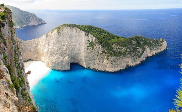 в Ионическом море Греции