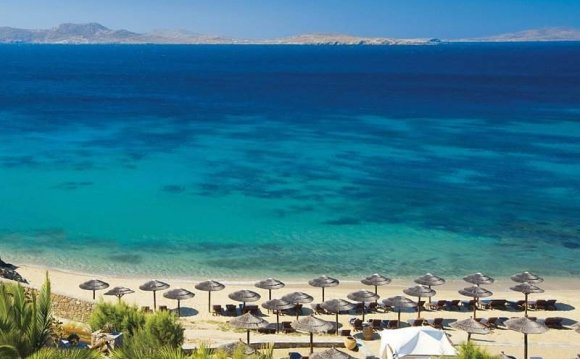 Пляжи на Острове Миконос