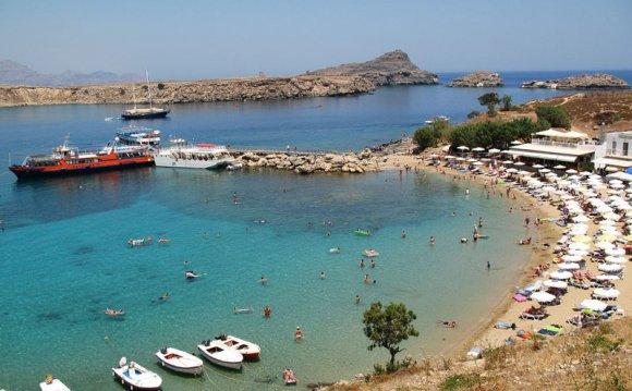 фото остров Родос Греция