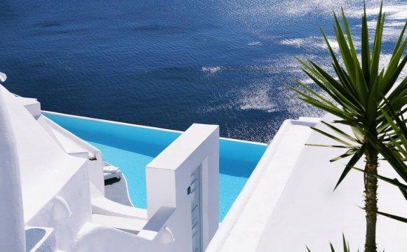 отели санторини греция