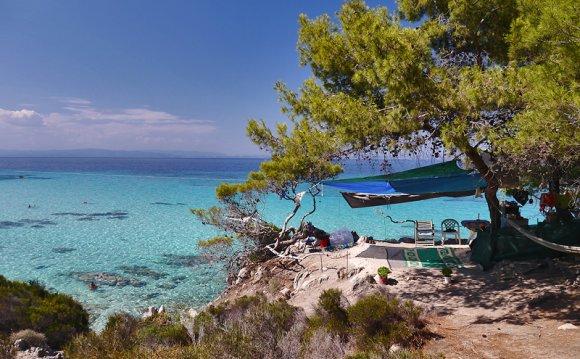 Ситония Халкидики: пляжи и