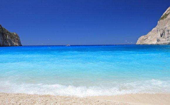 песчаных пляжей Греции
